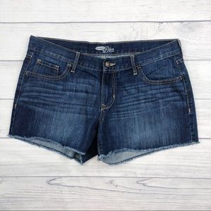 Old Navy Diva Released Hem Denim Jean Shorts